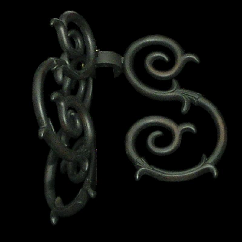 S-Scroll Oil Rubbed Bronze