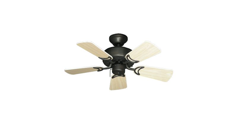 """Picture of 42"""" Dixie Belle Oil Rubbed Bronze with 31"""" Bleached Oak Gloss Blades"""