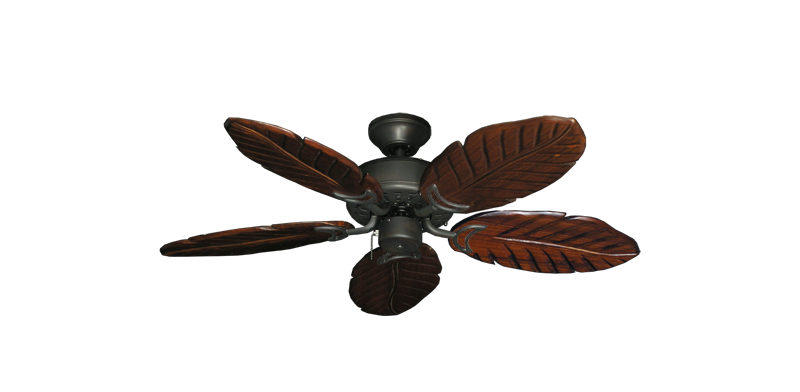 """Picture of 42"""" Dixie Belle Oil Rubbed Bronze with 42"""" Series 150 Arbor Cherrywood Blades"""