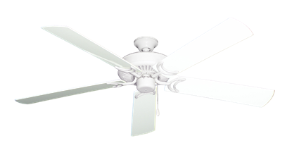 """Picture of Riviera Pure White with 60"""" Outdoor Pure White Blades"""