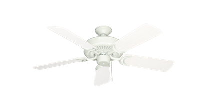 """Picture of Riviera Matte Pure White with 44"""" Outdoor Pure White Blades"""