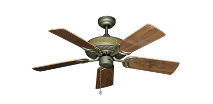 """Picture of Atlantis Antique Bronze with 44"""" Walnut Gloss Blades"""