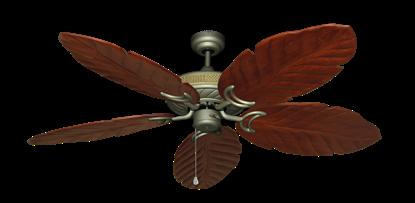"Picture of Atlantis Antique Bronze with 58"" Series 100 Arbor Cherrywood Blades"