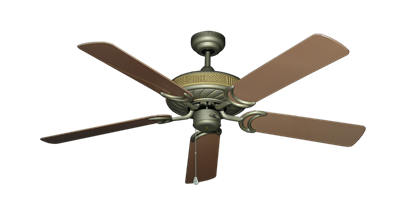 """Picture of Atlantis Antique Bronze with 52"""" Outdoor Brown Blades"""