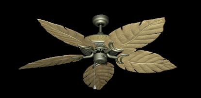 "Picture of Atlantis Antique Bronze with 52"" Venetian Walnut Blades"
