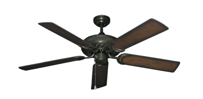 """Picture of Atlantis Oil Rubbed Bronze with 52"""" Distressed Hickory Blades"""