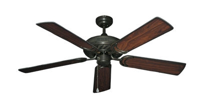 """Picture of Atlantis Oil Rubbed Bronze with 52"""" Burnt Cherry Blades"""