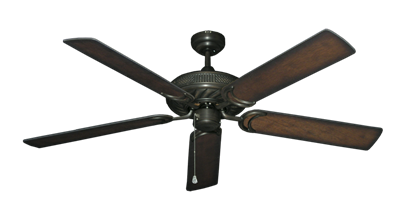 """Picture of Atlantis Oil Rubbed Bronze with 56"""" Distressed Hickory Blades"""