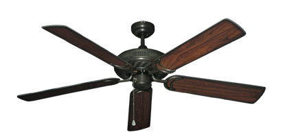 """Picture of Atlantis Oil Rubbed Bronze with 56"""" Burnt Cherry Blades"""