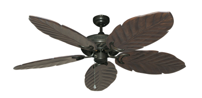 "Picture of Atlantis Oil Rubbed Bronze with 58"" Series 100 Arbor Dark Walnut Blades"