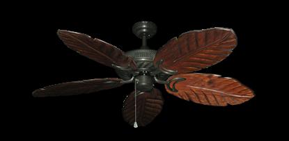 "Atlantis Oil Rubbed Bronze with 52"" Series 125 Arbor Cherrywood Blades"