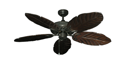 "Picture of Atlantis Oil Rubbed Bronze with 52"" Series 125 Arbor Dark Walnut Blades"
