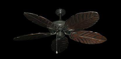 "Atlantis Oil Rubbed Bronze with 52"" Series 125 Arbor Dark Walnut Blades"