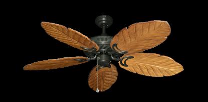 "Atlantis Oil Rubbed Bronze with 52"" Series 125 Arbor Oak Blades"