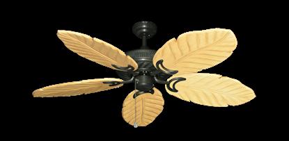 "Atlantis Oil Rubbed Bronze with 52"" Series 125 Arbor Maple Blades"