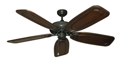 "Picture of Atlantis Oil Rubbed Bronze with 58"" Series 800 Arbor Chestnut Blades"
