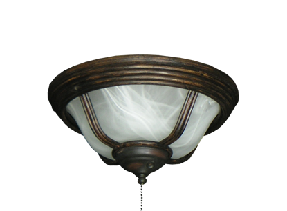 190 Moroccan Light Oil Rubbed Bronze with White Scavo