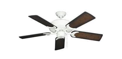 """Picture of Raindance Pure White with 44"""" Distressed Hickory Blades"""