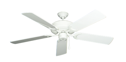 """Picture of Raindance Pure White with 52"""" Pure White Gloss Blades"""