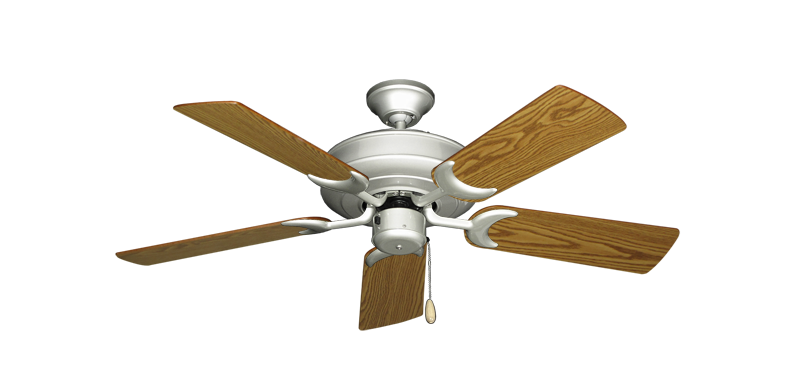 """Picture of Raindance Brushed Nickel with 44"""" Oak Blades"""