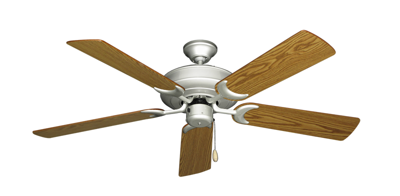 """Picture of Raindance Brushed Nickel with 52"""" Oak Blades"""