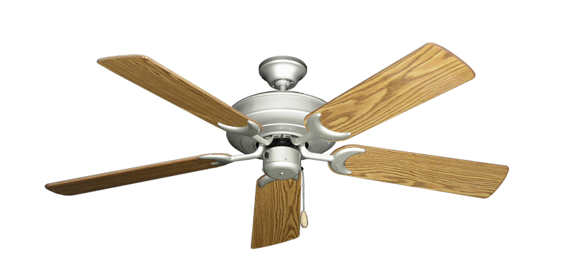 """Picture of Raindance Brushed Nickel with 52"""" Oak Gloss Blades"""