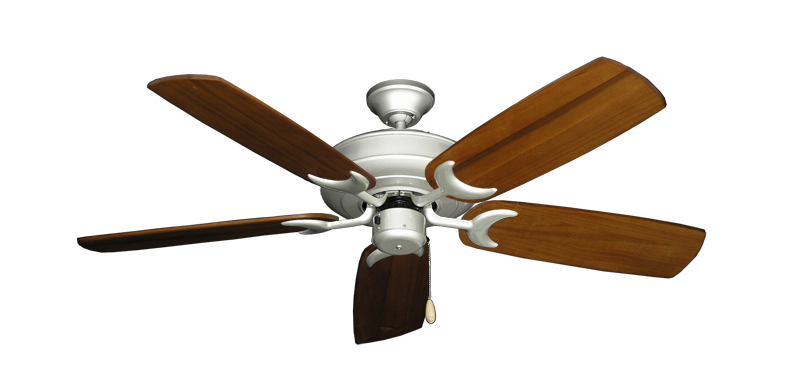 "Picture of Raindance Brushed Nickel with 52"" Series 425 Arbor Oak Blades"