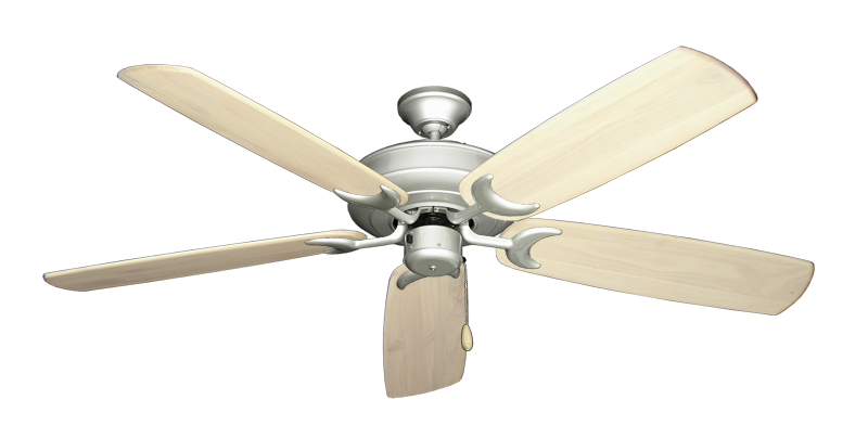 "Picture of Raindance Brushed Nickel with 60"" Series 450 Arbor Whitewash Blades"