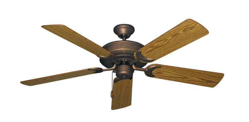 """Picture of Raindance Burnished Copper with 52"""" Oak Blades"""
