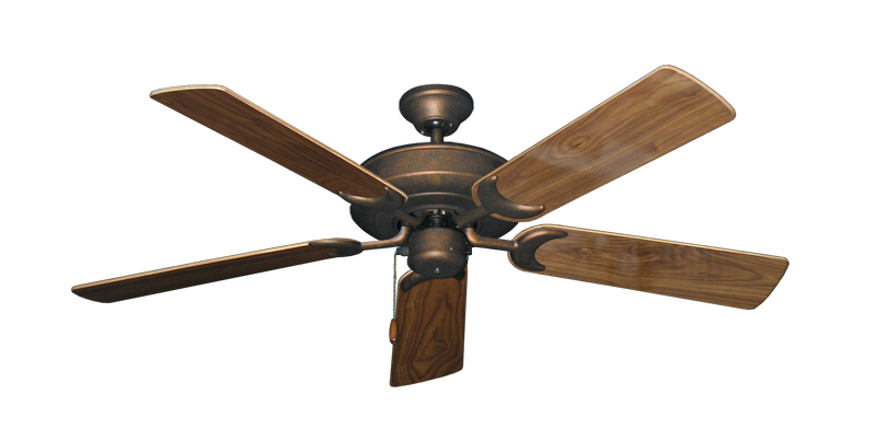 "Picture of Raindance Burnished Copper with 52"" Walnut Gloss Blades"