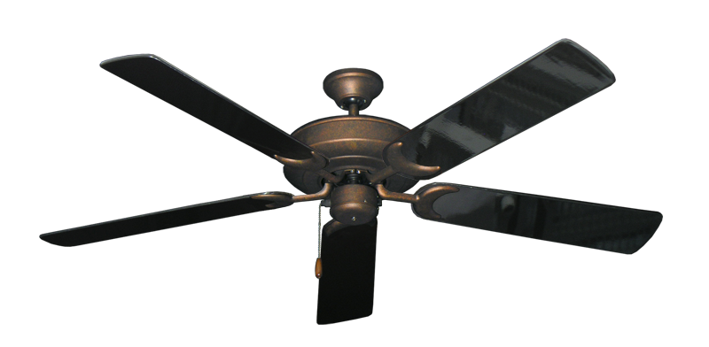 "Picture of Raindance Burnished Copper with 56"" Black Gloss Blades"