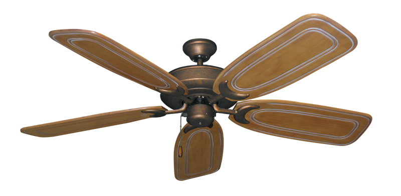 "Picture of Raindance Burnished Copper with 58"" Series 800 Arbor Pecan Blades"