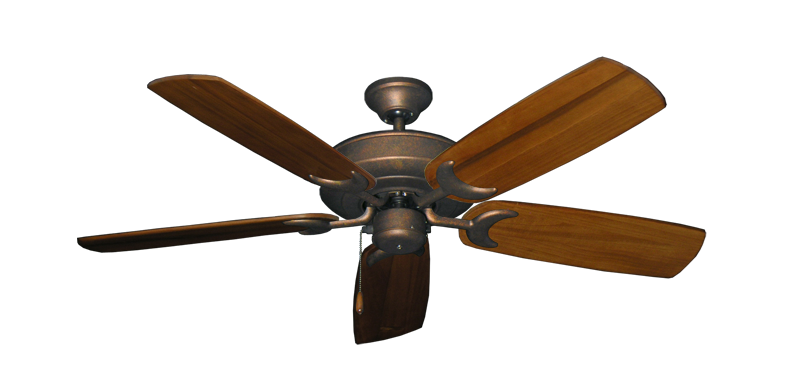 """Picture of Raindance Burnished Copper with 52"""" Series 425 Arbor Oak Blades"""