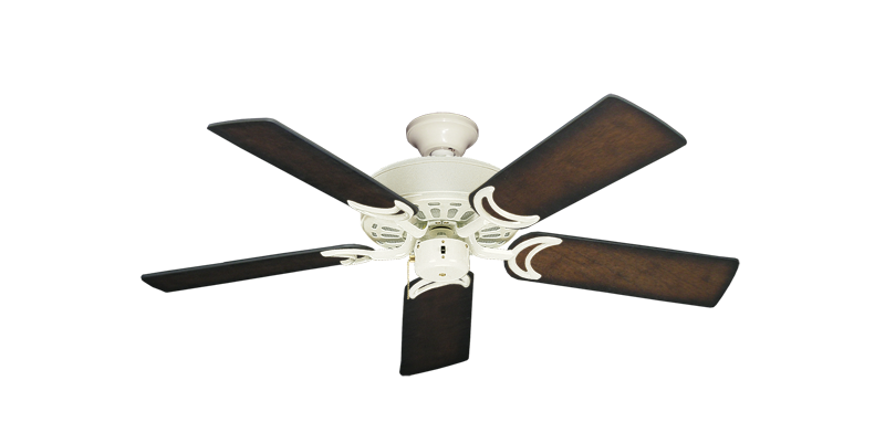 """Picture of Dixie Belle Antique White with 44"""" Distressed Hickory Blades"""