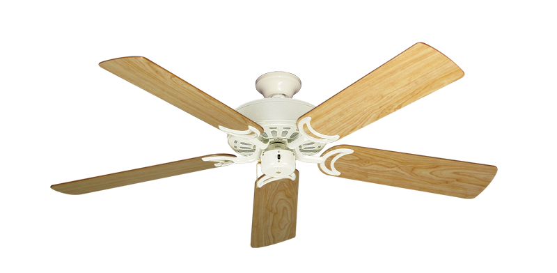 """Picture of Dixie Belle Antique White with 52"""" Maple Blades"""