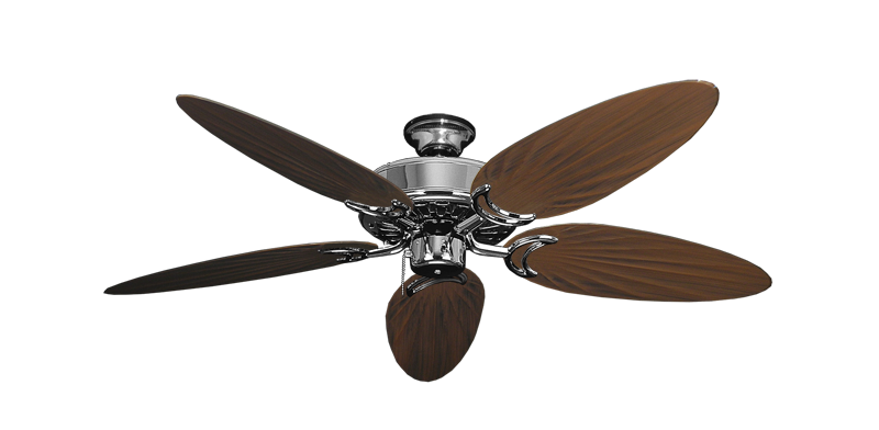 """Picture of Dixie Belle Chrome with 52"""" Outdoor Palm Oil Rubbed Bronze Blades"""