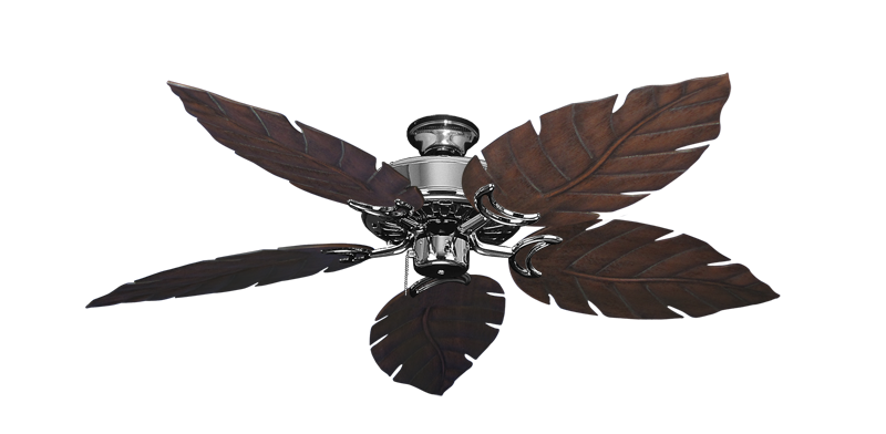 """Picture of Dixie Belle Chrome with 52"""" Venetian Oil Rubbed Bronze Blades"""