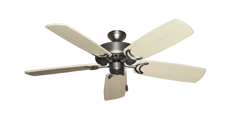 """Picture of Dixie Belle Satin Steel with 52"""" Series 425 Arbor Whitewash Blades"""