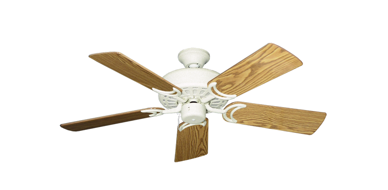 """Dixie Belle Navajo White with 44"""" Oak Gloss Blades"""