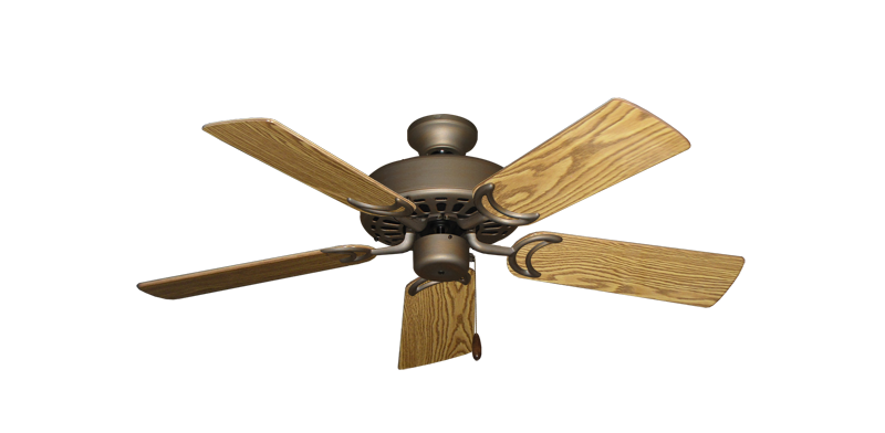 """Picture of Dixie Belle Antique Bronze with 44"""" Oak Gloss Blades"""