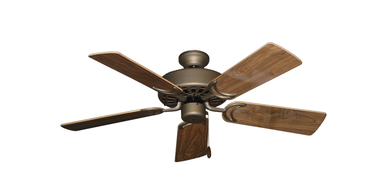 "Picture of Dixie Belle Antique Bronze with 44"" Walnut Gloss Blades"