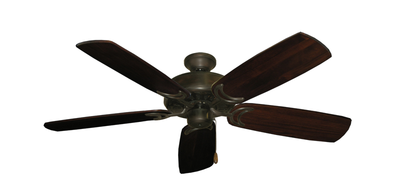 "Dixie Belle Oil Rubbed Bronze with 52"" Series 425 Arbor Cherrywood Blades"