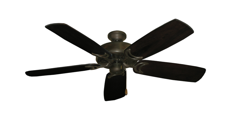 "Picture of Dixie Belle Oil Rubbed Bronze with 52"" Series 425 Arbor Dark Walnut Blades"