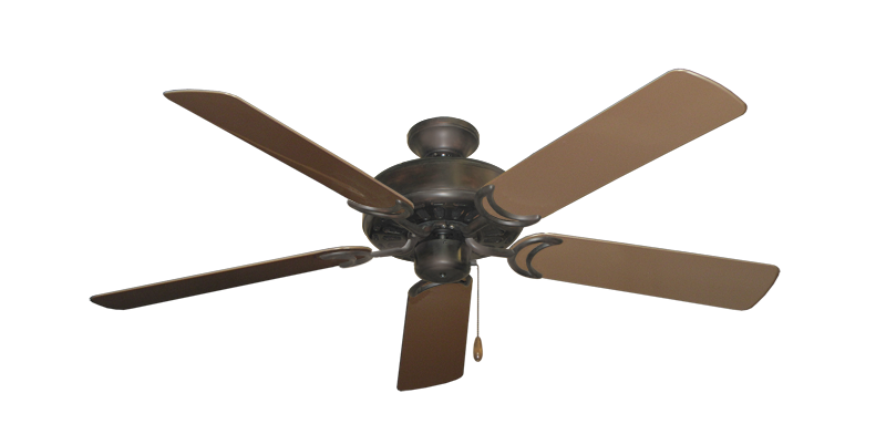 """Picture of Dixie Belle Oil Rubbed Bronze with 52"""" Outdoor Brown Blades"""