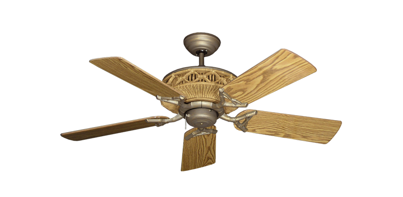"Picture of Tiki Antique Bronze with 44"" Oak Gloss Blades"