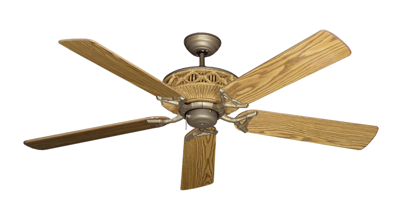 """Picture of Tiki Antique Bronze with 56"""" Oak Gloss Blades"""