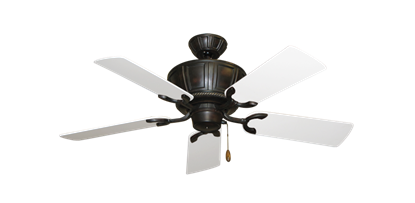 "Picture of Centurion Oil Rubbed Bronze with 44"" Pure White Blades"