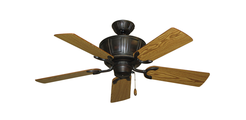 """Picture of Centurion Oil Rubbed Bronze with 44"""" Oak Blades"""