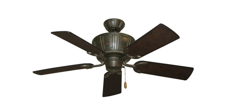 "Picture of Centurion Oil Rubbed Bronze with 44"" Distressed Walnut Blades"