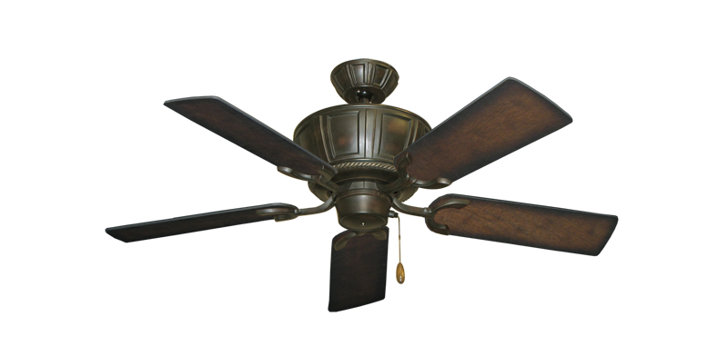 """Picture of Centurion Oil Rubbed Bronze with 44"""" Distressed Hickory Blades"""